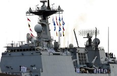 Naval ships of Republic of Korea visit Ho Chi Minh City