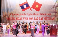 Laos' national art troupe makes fascinating culture week