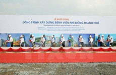 PM kickstarts construction on HCM City Children Hospital