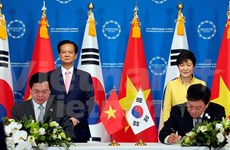 Vietnam, RoK conclude free trade agreement talks