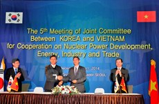 Vietnam, RoK eye expanded nuclear power, trade ties