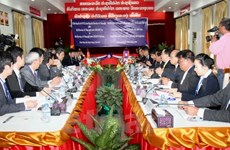 Vietnam, Laos step up science-technology cooperation