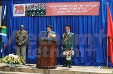 Vietnam People's Army founding day marked abroad