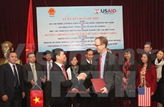 US supports promoting the disabled's rights in Vietnam