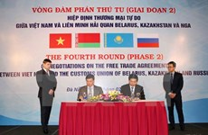 Vietnam, Customs Union put final touches on FTA