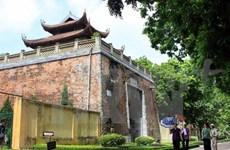 More vestiges found in Thang Long Citadel