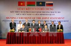 FTAs to bolster up Vietnam's economy: minister