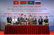 FTA to create more rooms for Vietnam-Customs Union cooperation