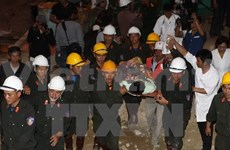 Int'l press highlights Vietnam's rescue of 12 trapped workers