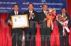 Hai Duong, Vientiane mark 30-year cooperation