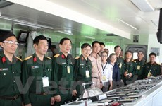 Vietnam, Thailand military officers join first exchange