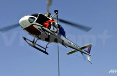 Aid helicopter crashes in Malaysia