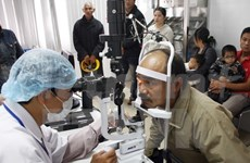 Orbis funds eye care projects in central Vietnam