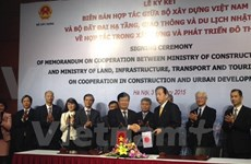 Vietnam, Japan partner in urban development