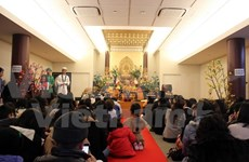 Vietnamese people in Japan pray for peace in New Year