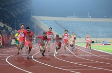 Athletes aim higher at international sport events