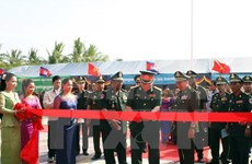 Vietnam-Cambodia friendship public security school launched