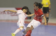 Vietnam women's team takes first at regional futsal tourney