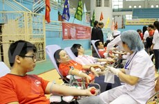 Blood donation festival to be held on January 25