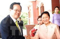 RoK Assembly Speaker visits Laos