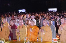 Ninh Binh hosts grand ceremony for world peace
