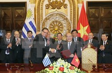 Uruguay's top legislator wraps up Vietnam visit