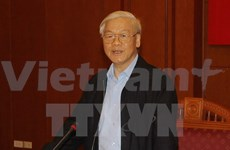 Party leader calls for further solidarity to tap future opportunities