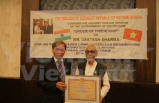Indian solidarity committee president awarded with Friendship Order
