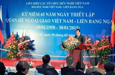 Hanoi meeting marks Vietnam-Russia diplomatic ties anniversary