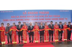 New terminal helps ease overload at Vinh Airport
