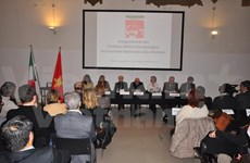 Italy-Vietnam friendship chapter debuts in Emilia-Romagna region