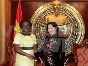 NA Vice Chairwoman receives WB Country Director