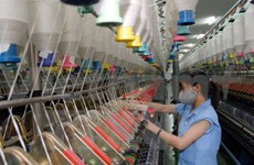 Industrial production up 10 percent