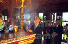 US aids restoration of ancient temple at Hue Citadel