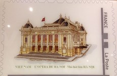 Vietnamese-themed stamps released in France