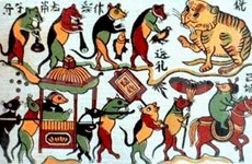 Resurgence in Dong Ho folk painting