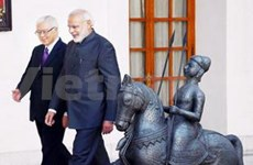 Singaporean President visits India
