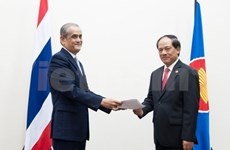 Thailand sends new permanent representative to ASEAN