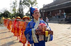 Spring comes to imperial Hue city