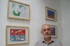 Part of mine is Vietnamese, says Australian painter