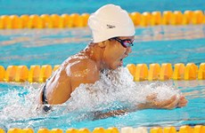 Swimmer Vien welcomes New Year with new hopes