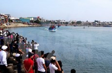 Quang Ngai fishermen go out to sea with new year spirit