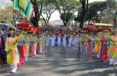 Binh Dinh province celebrates Ngoc Hoi-Dong Da victory