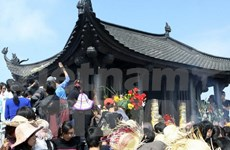 Yen Tu festival starts, visitors enjoy bird's eye views