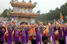 Crowds flock to Hue during spring festivals