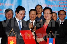 Zero tariffs on 95 percent of goods from Vietnam, Laos