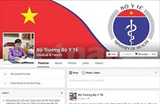 Health minister first to use Facebook
