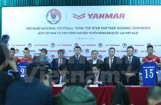 Japanese Yanmar sponsors national football teams