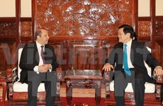 State President welcomes new ambassadors to Vietnam