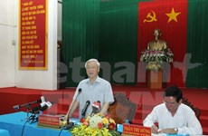 Tra Vinh asked to boost agriculture, respond to climate change